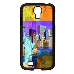 New York City The Statue Of Liberty Samsung Galaxy S4 I9500/ I9505 Case (black)