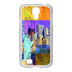 New York City The Statue Of Liberty Samsung Galaxy S4 I9500/ I9505 Case (white)