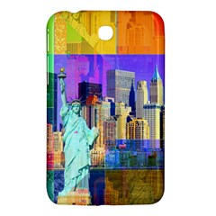 New York City The Statue Of Liberty Samsung Galaxy Tab 3 (7 ) P3200 Hardshell Case