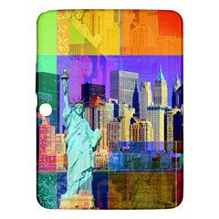 New York City The Statue Of Liberty Samsung Galaxy Tab 3 (10 1 ) P5200 Hardshell Case