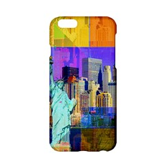 New York City The Statue Of Liberty Apple Iphone 6/6s Hardshell Case