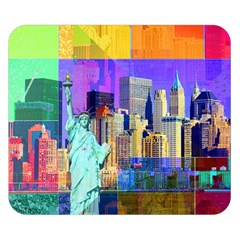New York City The Statue Of Liberty Double Sided Flano Blanket (small)