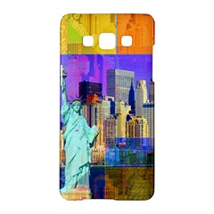 New York City The Statue Of Liberty Samsung Galaxy A5 Hardshell Case