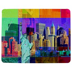 New York City The Statue Of Liberty Jigsaw Puzzle Photo Stand (rectangular)