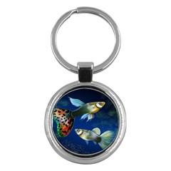 Marine Fishes Key Chains (Round)
