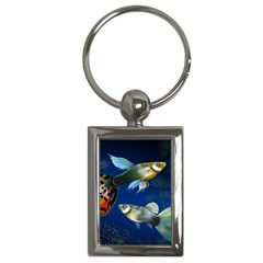 Marine Fishes Key Chains (rectangle)