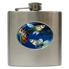 Marine Fishes Hip Flask (6 Oz)