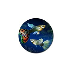 Marine Fishes Golf Ball Marker (4 Pack)