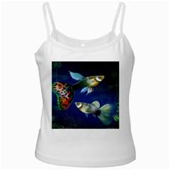 Marine Fishes Ladies Camisoles