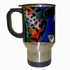 Marine Fishes Travel Mugs (white)