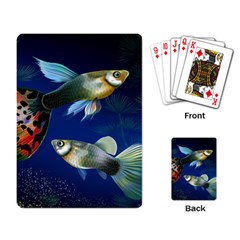 Marine Fishes Playing Card