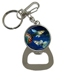 Marine Fishes Button Necklaces
