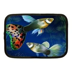 Marine Fishes Netbook Case (medium)