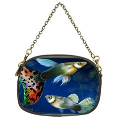 Marine Fishes Chain Purses (one Side)
