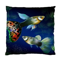 Marine Fishes Standard Cushion Case (two Sides)