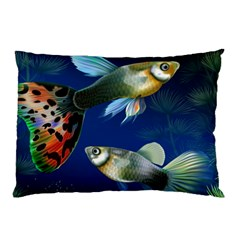 Marine Fishes Pillow Case