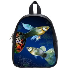 Marine Fishes School Bags (small)