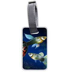 Marine Fishes Luggage Tags (one Side)