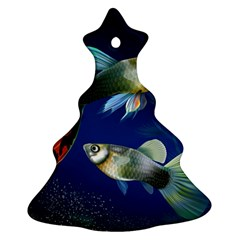 Marine Fishes Christmas Tree Ornament (Two Sides)