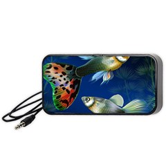 Marine Fishes Portable Speaker (black)