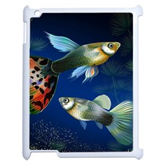 Marine Fishes Apple Ipad 2 Case (white)