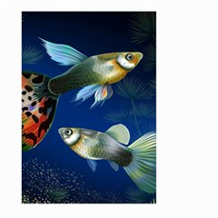 Marine Fishes Large Garden Flag (two Sides)