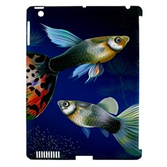 Marine Fishes Apple Ipad 3/4 Hardshell Case (compatible With Smart Cover)