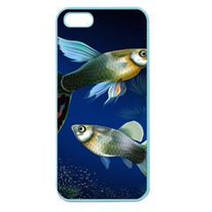 Marine Fishes Apple Seamless Iphone 5 Case (color)