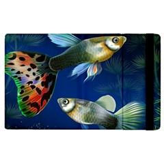 Marine Fishes Apple iPad 2 Flip Case