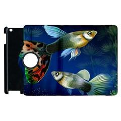 Marine Fishes Apple Ipad 3/4 Flip 360 Case