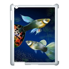 Marine Fishes Apple Ipad 3/4 Case (white)
