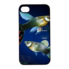 Marine Fishes Apple Iphone 4/4s Hardshell Case With Stand