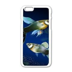 Marine Fishes Apple Iphone 6/6s White Enamel Case