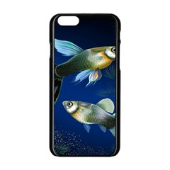 Marine Fishes Apple Iphone 6/6s Black Enamel Case