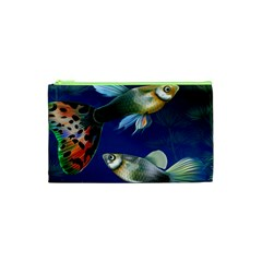 Marine Fishes Cosmetic Bag (xs)