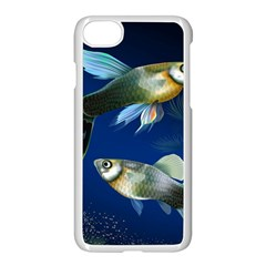 Marine Fishes Apple Iphone 7 Seamless Case (white)