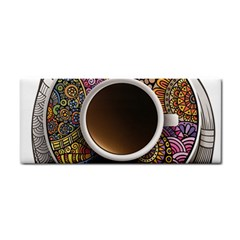 Ethnic Pattern Ornaments And Coffee Cups Vector Cosmetic Storage Cases