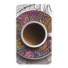 Ethnic Pattern Ornaments And Coffee Cups Vector Memory Card Reader
