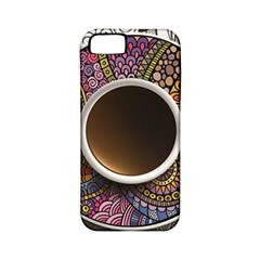 Ethnic Pattern Ornaments And Coffee Cups Vector Apple iPhone 5 Classic Hardshell Case (PC+Silicone)