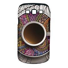 Ethnic Pattern Ornaments And Coffee Cups Vector Samsung Galaxy S Iii Classic Hardshell Case (pc+silicone)