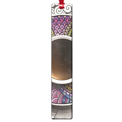 Ethnic Pattern Ornaments And Coffee Cups Vector Large Book Marks