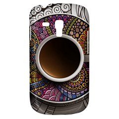 Ethnic Pattern Ornaments And Coffee Cups Vector Galaxy S3 Mini