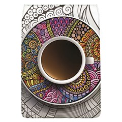Ethnic Pattern Ornaments And Coffee Cups Vector Flap Covers (l)