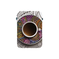 Ethnic Pattern Ornaments And Coffee Cups Vector Apple Ipad Mini Protective Soft Cases