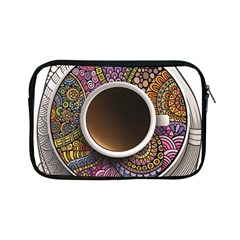 Ethnic Pattern Ornaments And Coffee Cups Vector Apple Ipad Mini Zipper Cases