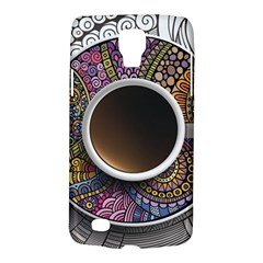 Ethnic Pattern Ornaments And Coffee Cups Vector Galaxy S4 Active
