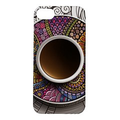 Ethnic Pattern Ornaments And Coffee Cups Vector Apple Iphone 5s/ Se Hardshell Case