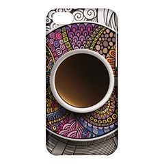 Ethnic Pattern Ornaments And Coffee Cups Vector Apple iPhone 5C Hardshell Case