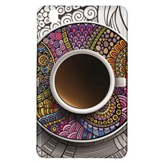 Ethnic Pattern Ornaments And Coffee Cups Vector Samsung Galaxy Tab Pro 8 4 Hardshell Case