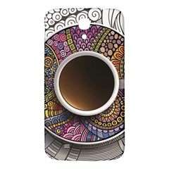Ethnic Pattern Ornaments And Coffee Cups Vector Samsung Galaxy Mega I9200 Hardshell Back Case